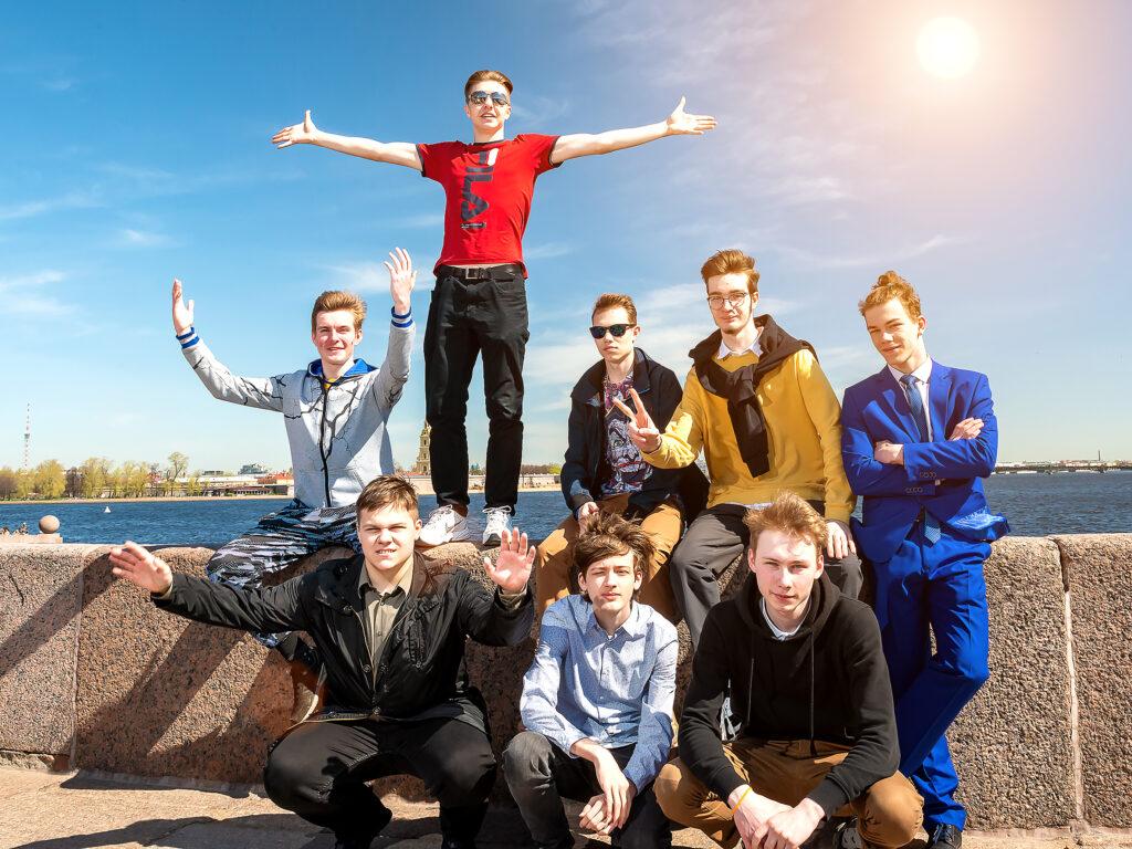 Фотосъемка для выпускного альбома 11 класса